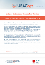 déclaration liminaire USAC-CGT INCO