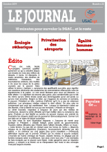 Le Journal de l'USACcgt N° 22 Octobre 2019